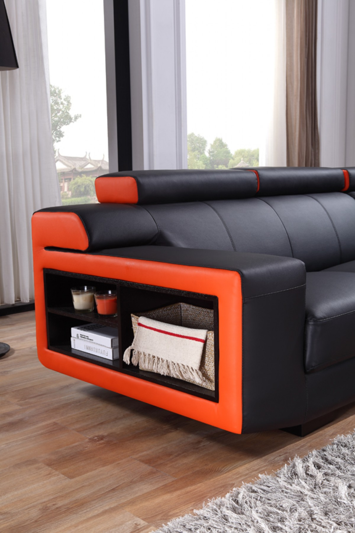 of for full sets ideas sectional orange sofa microfiber sale striking furniture orangetional bedroomla photos with room living sofas burnt center chaise size contemporary