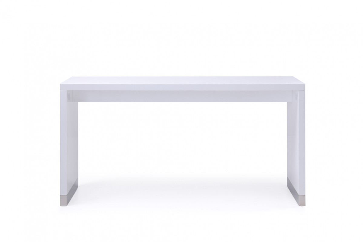 Modrest Silas Modern White Bar Table