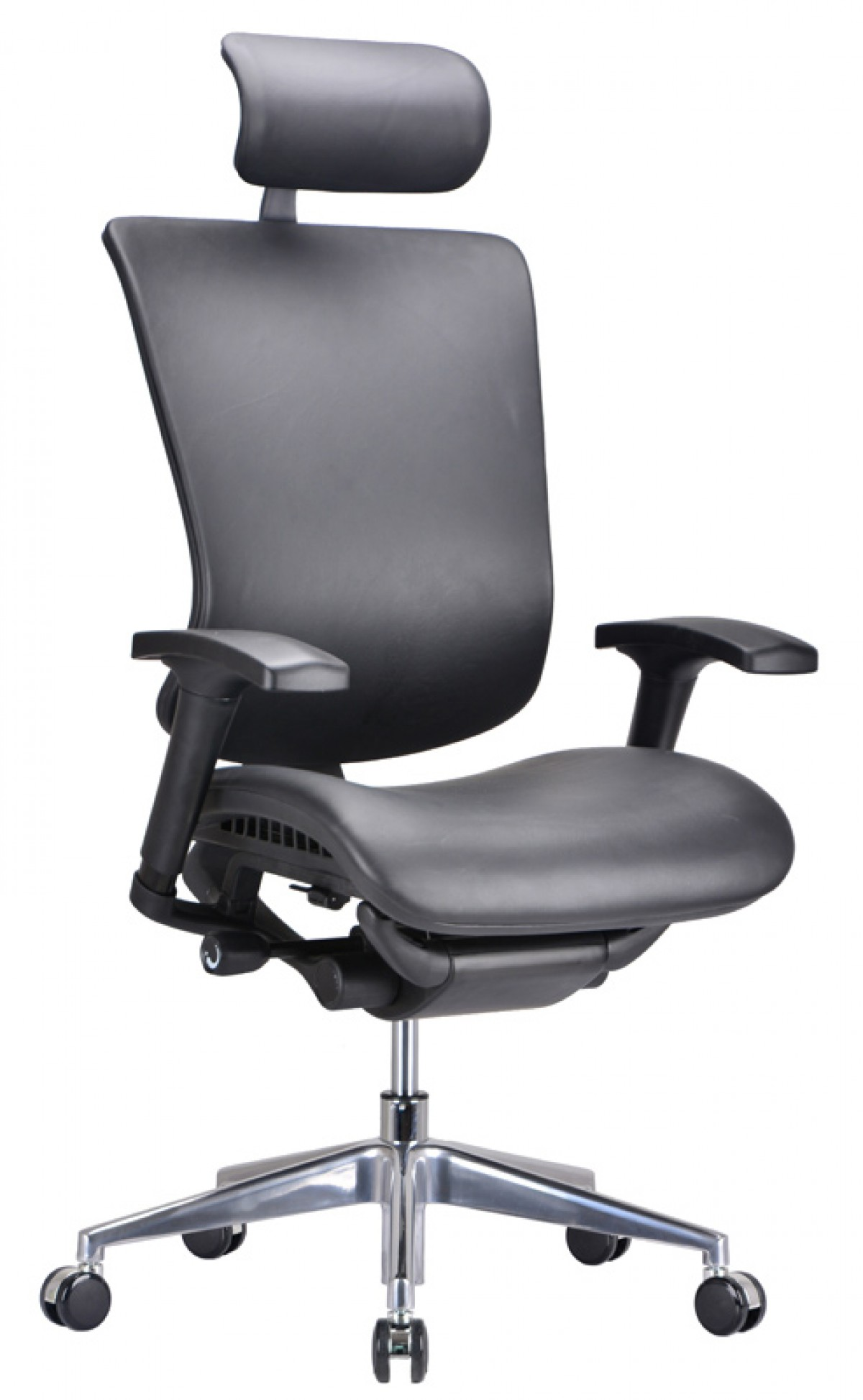 Modrest Watson Modern Black Leather fice Chair fice Chairs