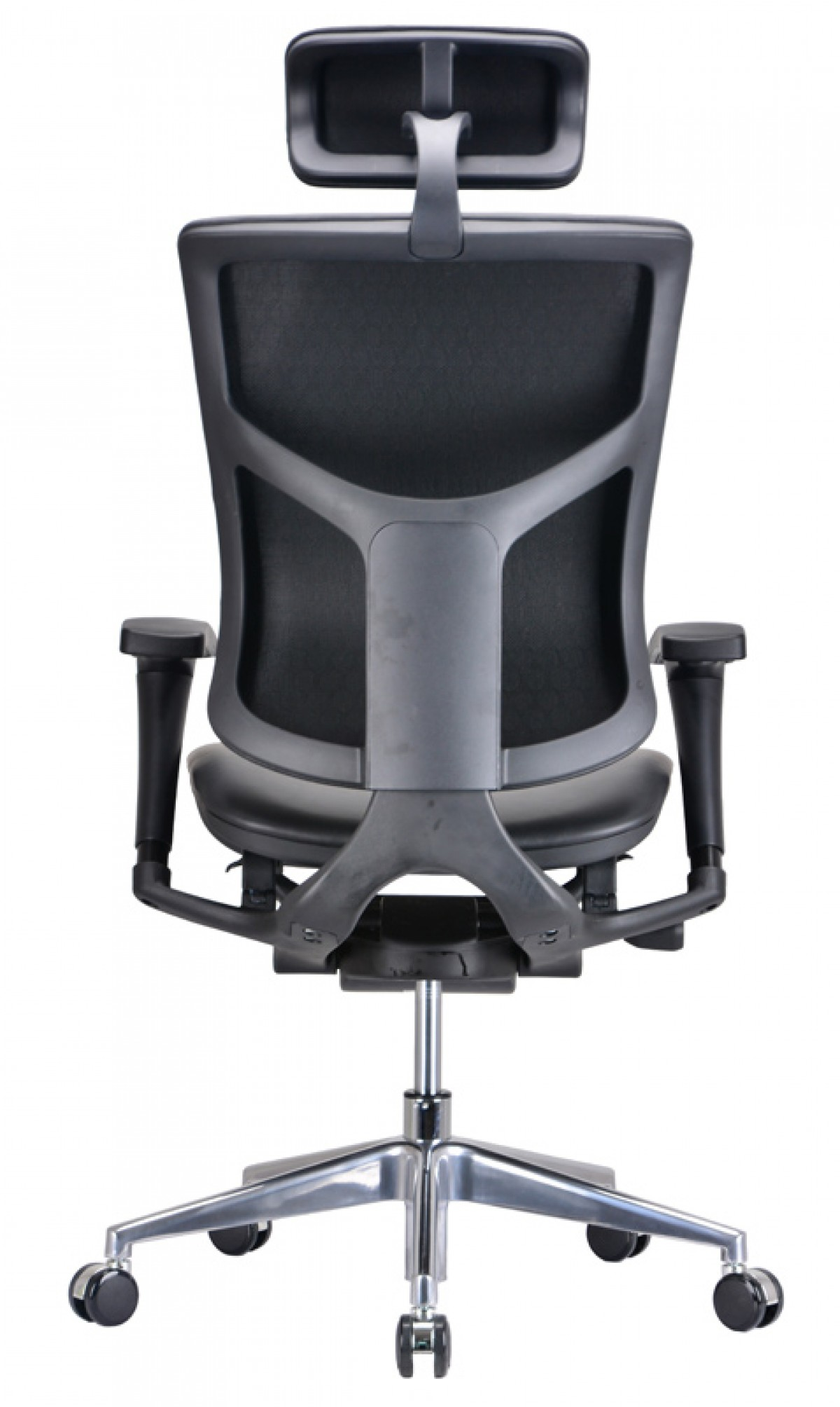 Modern leather office chair - Modrest Watson Modern Black Leather Office Chair Office Chairs Office