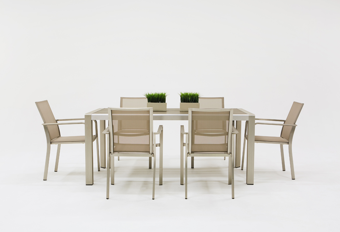 VIG Furniture Renava Diego Outdoor Grey Dining Table Set