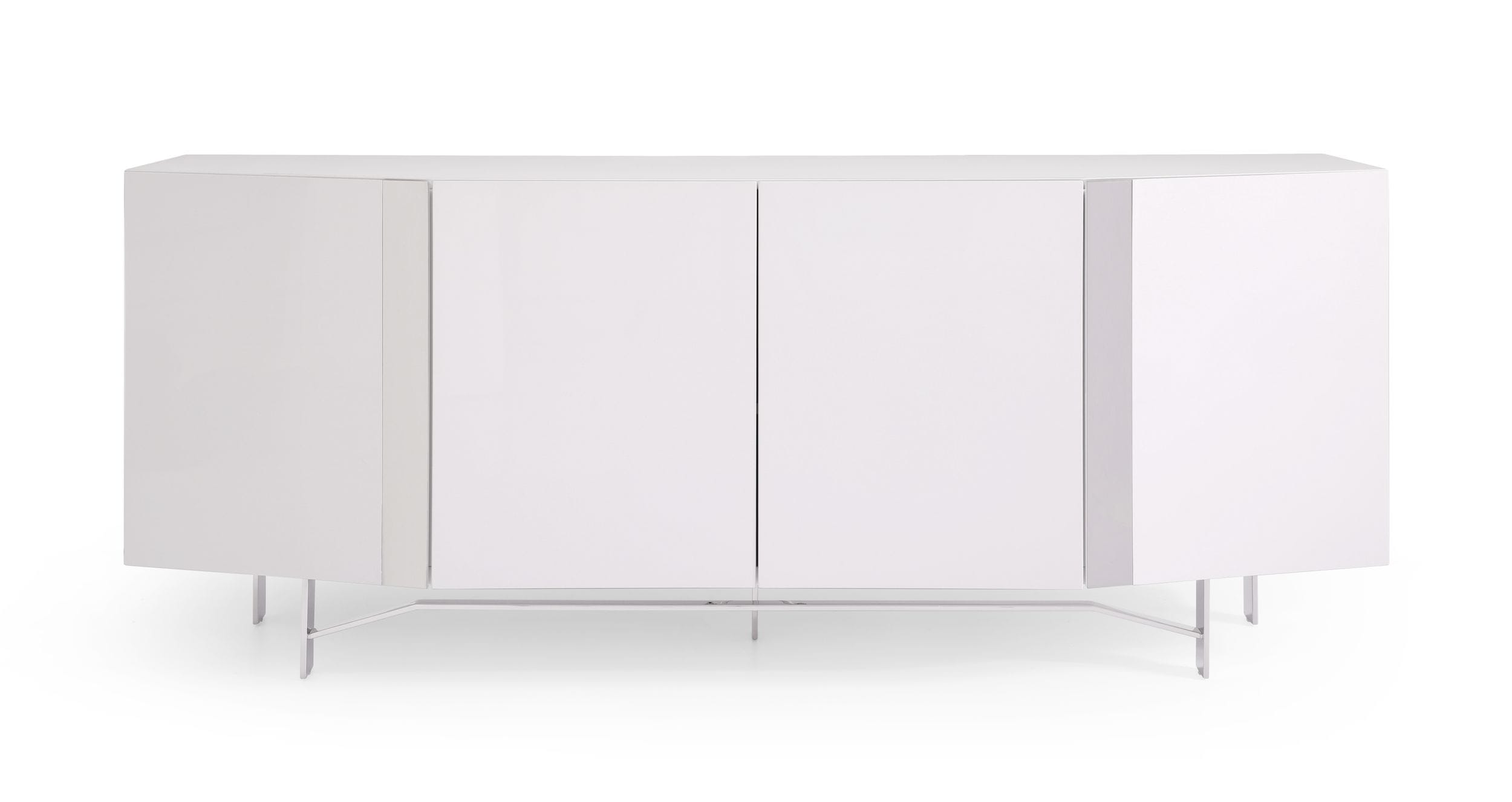 VIG Furniture Modrest Fairmount Modern High Gloss White Buffet