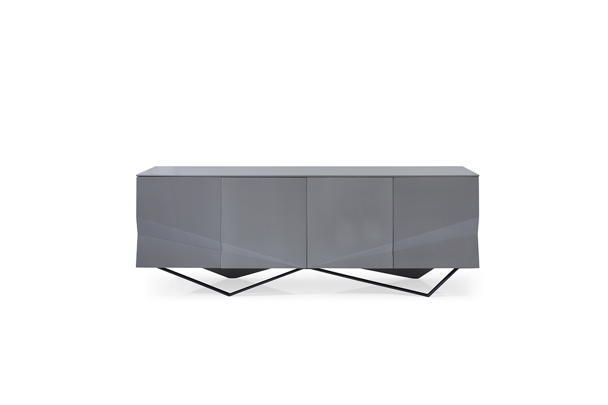 VIG Furniture Modrest Duke Modern Grey Buffet
