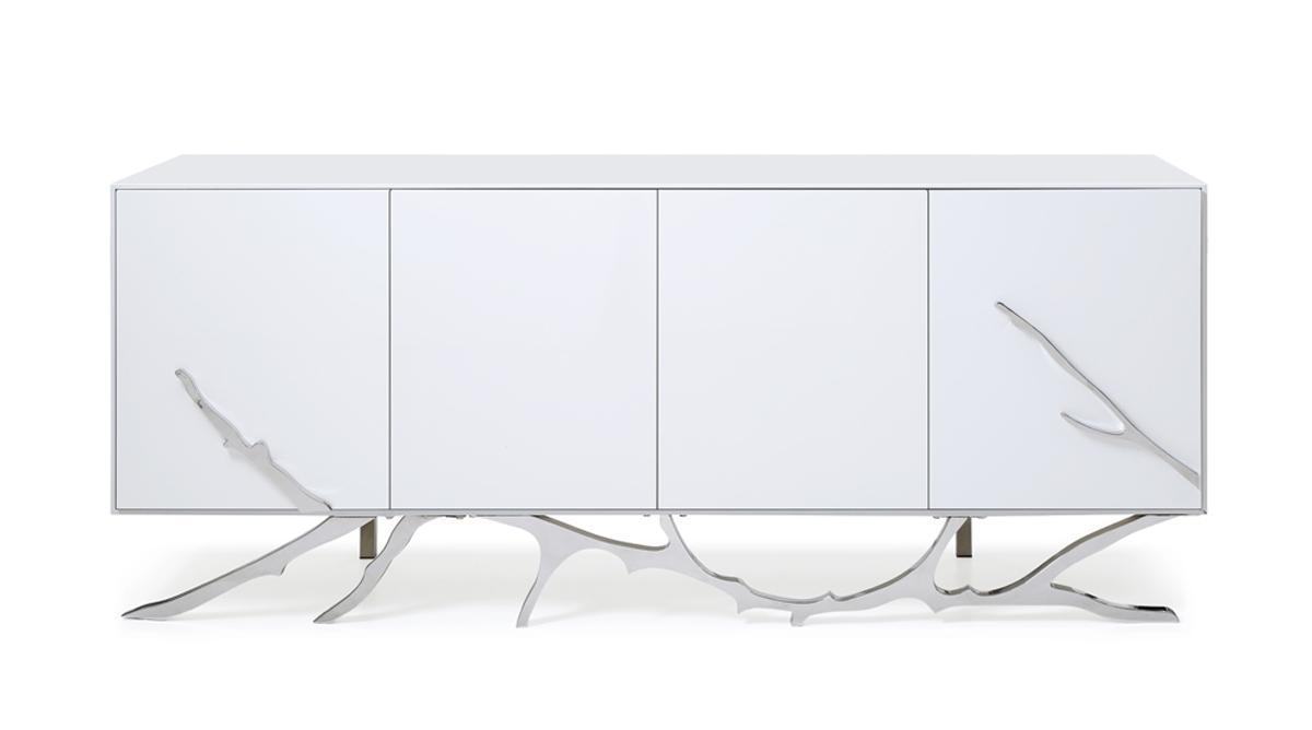 VIG Furniture Modrest Legend Modern White Buffet