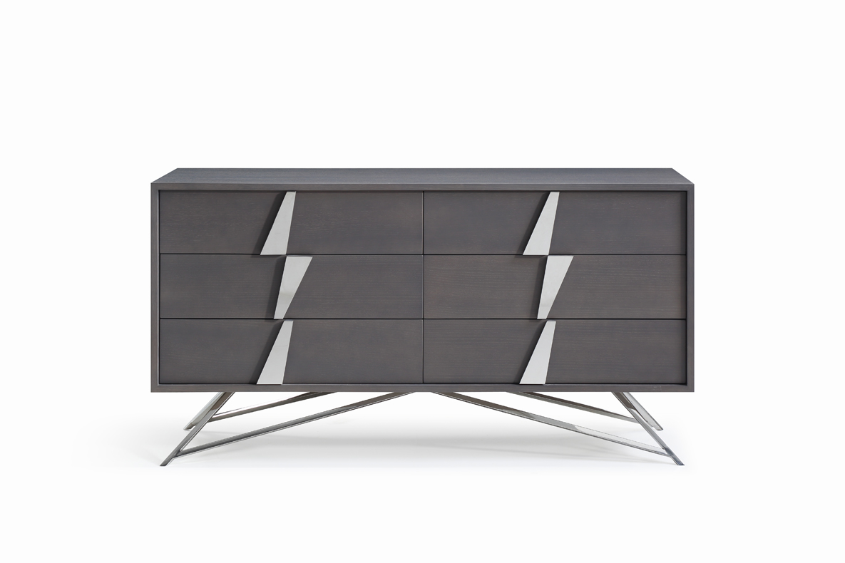 VIG Furniture Modrest Nicola Modern Grey Oak Dresser