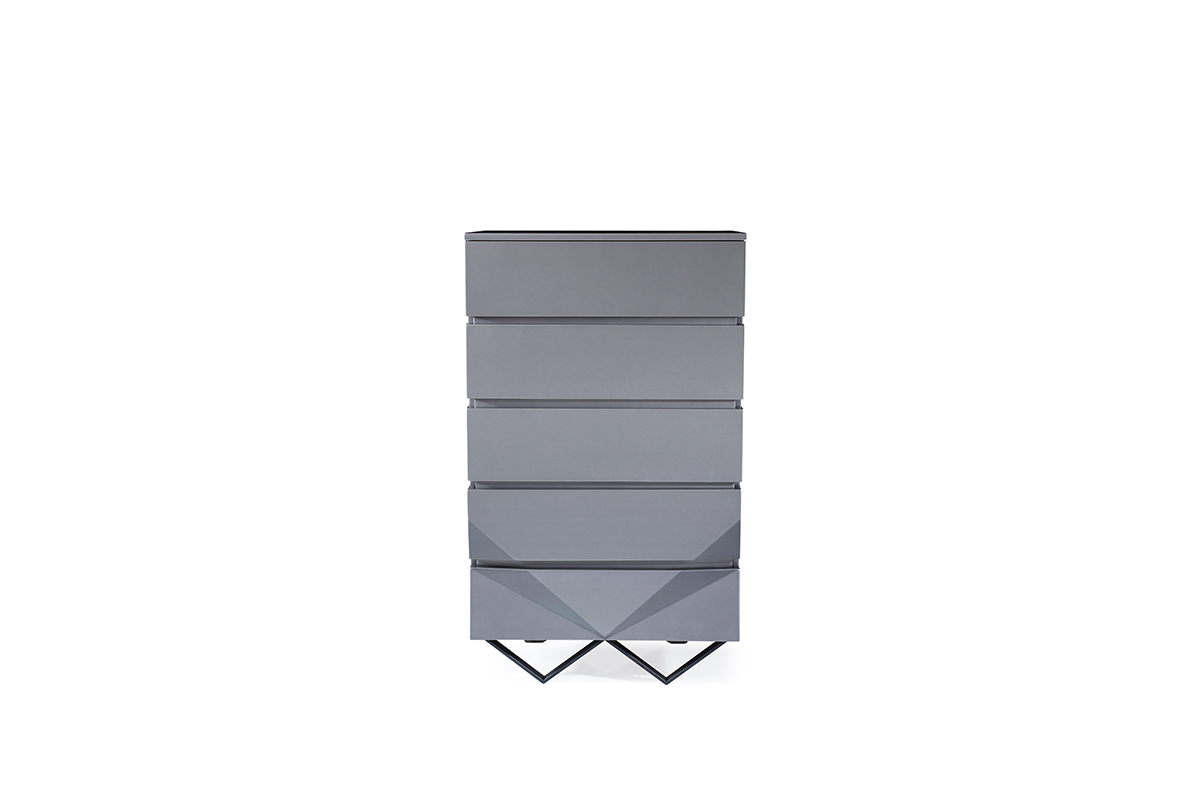 VIG Furniture Modrest Duke Modern Grey Chest