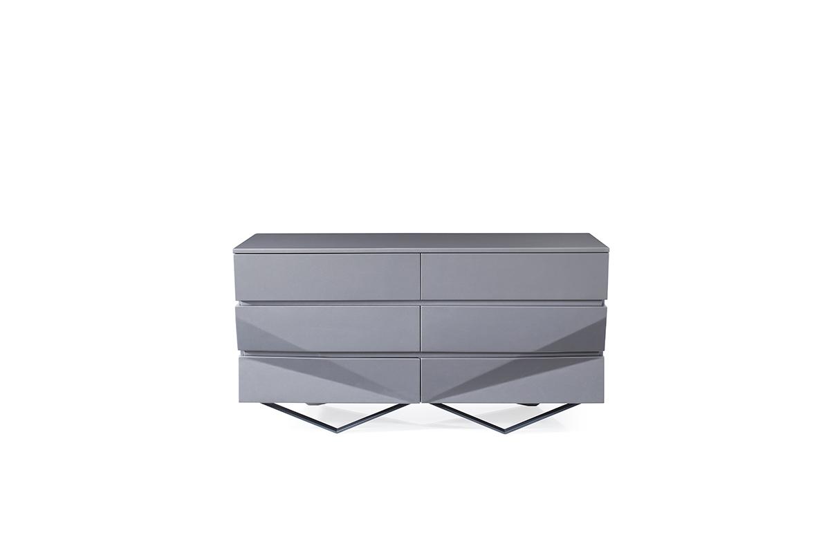 VIG Furniture Modrest Duke Modern Grey Dresser