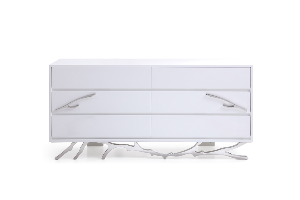 VIG Furniture Modrest Legend Modern White Dresser