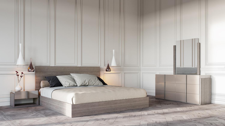 VIG Furniture Nova Domus Marcela Italian Modern Bedroom Set