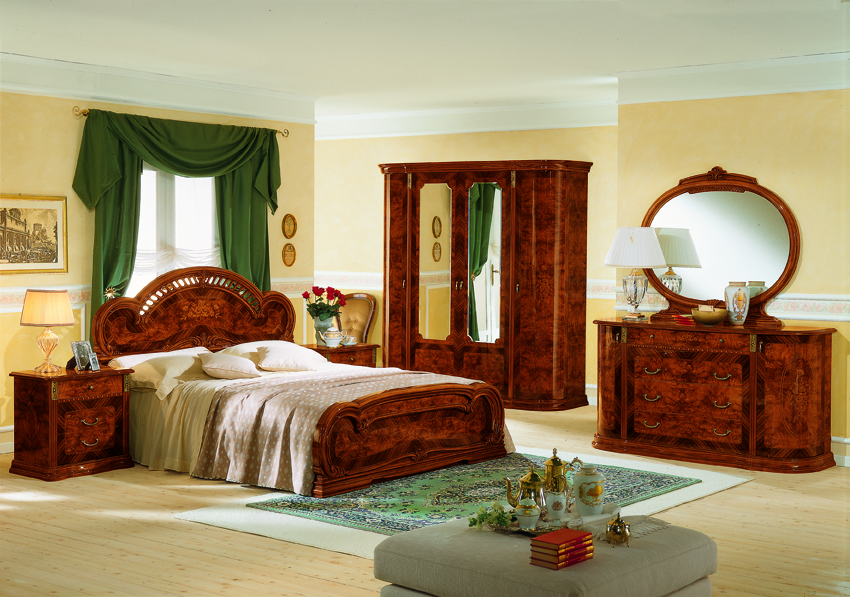 VIG Furniture Modrest Milady Italian Single Bed with 2 Nightstands