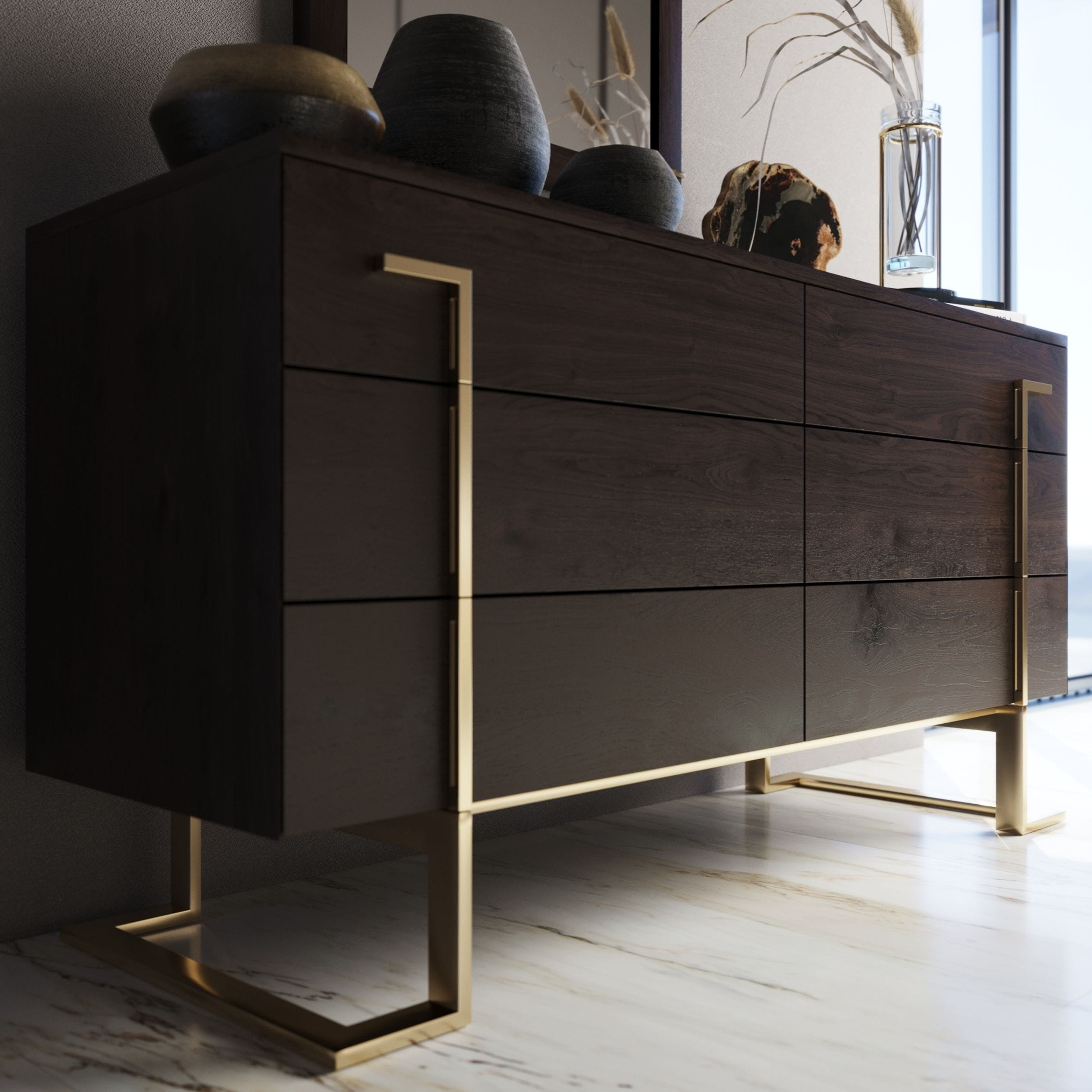 VIG Furniture Modrest Moontide Modern Dresser