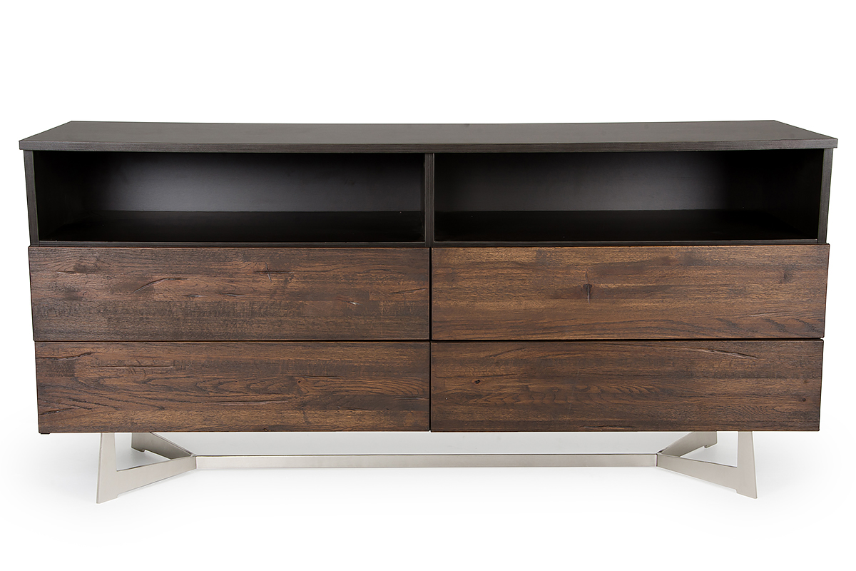 VIG Furniture Modrest Wharton Modern Dark Aged Oak Dresser
