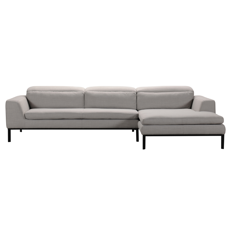 VIG Furniture Divani Casa Clayton Modern Fabric Sectional Sofa
